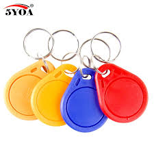<b>10pcs 13.56MHz IC M1</b> S50 Keyfobs Tags RFID Key Finder Card ...