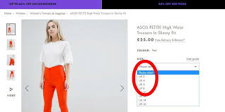 Asos Clothing Size Chart Asos Shoppers Outraged At Totally Irresponsible Size 2