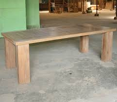 Reclaimed Teak Dining Table Teak Table For Your Complete Country Home Design Dicksterling