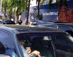 navnit motors bmw showroom opening in juhu team bhp