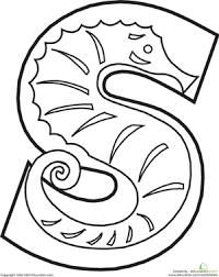Small Picture Animal Alphabet Letters Coloring Pages Educationcom