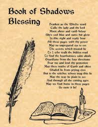 book of shadows blessing book of shadows page bos pages rare wiccan spell pic