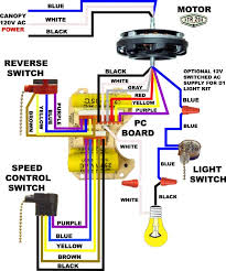 astounding wiring diagram hunter ceiling fan light