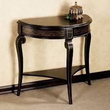 how to build a half round entry table designs