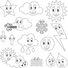 Small Picture Good Weather Coloring Pages 21 In Gallery Coloring Ideas with