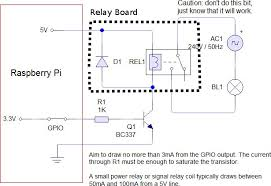 diy stripboard veroboard enclosure for raspberry pi part 2 raspberry pi relay schematics adapted from pic at susa net
