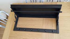 Ikea Coat And Hat Rack BlackBrown IKEA Hemnes hat rackcoat railhooks in Stirling Gumtree 70
