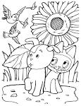 Котята раскраски игры