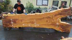 unique rustic furniture. Elm Slab For Rustic Furniture With Live Edge Unique O