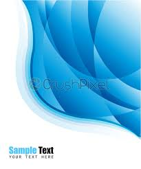 Stock Vector Blue Business Card Background