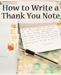 17 Best How To Write A Thank You Card Images Writing Thank You