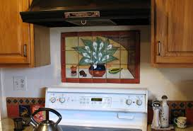 Mural Tiles For Kitchen Decor Mexican Tile Mural Backsplash Mexican Home Decor Gallery Mission 27