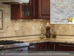 ivory fantasy granite countertop design concept