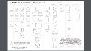 Card Size Chart Card And Envelope Size Guide Stevie Driscoll