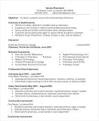Pharmacy Internship Resumes Sample Cover Letter For Pharmacist Beautiful Pharmacy Intern Luxury