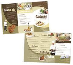 Catering Brochure Templates Rome Fontanacountryinn Com