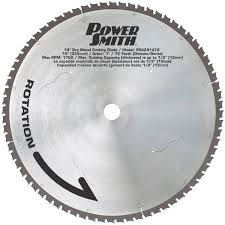 dry cut metal saw. 14\u2033 72-tooth dry cut metal saw blade