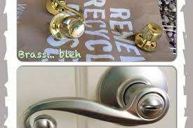 front door hardware brushed nickel. Dress Up Your Doors Lowes Giveaway Interior Door Before And After Spray  Painting Door Knobs Doors Knobs Sprays IMG Painting Front Hardware Brushed Nickel R