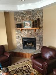 Living Room Corner Fireplace Decorating Decoration Perfect Stone Fireplace Design Ideas For Nature Home