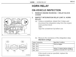 horn won t work need advice toyota rav forums well it looks like it s integrated into the fuse box the strip that holds the horn fuse is detachable and the relay is inside