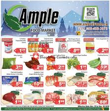 ample foods flyer flyer and weekly ads ample food market canada from friday
