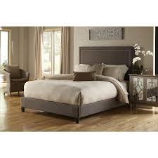 Pulaski Furniture Bedroom Pulaski Furniture All In 1 Brown King Upholstered Bed Ds 2291 Br