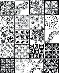 Easy Zentangle Patterns Awesome Zentangle Pattern Ideas Simple Patterns For Kids 48 Zentangle Easy