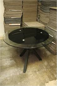 round glass discussion table