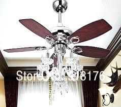 chandelier ceiling fan combo regarding crystal diy