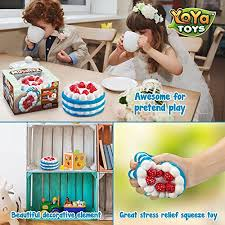 Jual Yoya Toys Stress Relief Squishy Cake Strawberry Cake Design