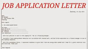 Show A Written Application Letter Paper Writing Service