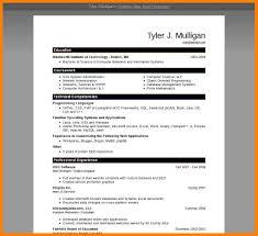 Resume In Word 2007 Eliolera Com