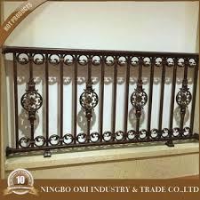 balcony railing/balcony stainless steel railing design/wrought iron grill  design for veranda for