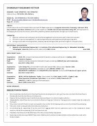 Resume For Production Operator Media Production Resume Samples