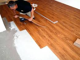 laying vinyl tile how to