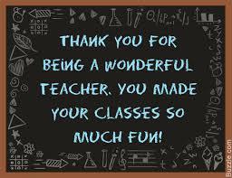 Appreciative Words You Should Say To Thank A Teacher