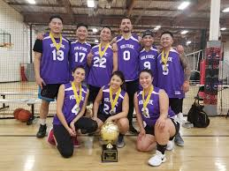5v5 coed full court basketball league