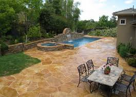 stamped concrete pool patio. Here\u0027s A Luxurious Stamped Concrete Pool Patio. Patio C