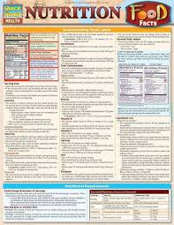 Nutrition Food Facts Laminated Reference Guide