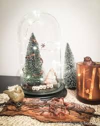 2 Von 24 Diy Einfache Weihnachtsdeko Mit Glasglocke Und