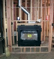 fireplace insert installation cost s s propane fireplace insert cost