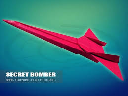 best paper airplane how to make a paper airplane that flies fast  best paper airplane how to make a paper airplane that flies fast far secret bomber