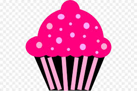Cupcake Frosting Icing Muffin Red Velvet Cake Clip Art Pink