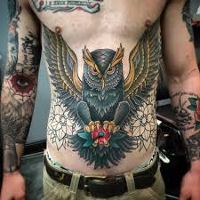 20 Super Sexy Stomach Tattoos