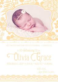 Announcement For Baby Girl Baby Girl Birth Announcement Photo Card Scripture Bible Verse