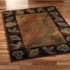 pine cone area rugs brown rustic area rug with leaves pine cone hill area rugs