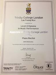 congratulations to our student sarah lau for her achievement in  congratulations to our student sarah lau for her achievement in atcl diploma piano examination passed a distinction