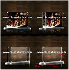 Restaurant Table Top Display Stands Table top display rack restaurant menu card acrylic sign holders 92