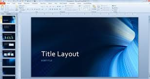 Ms Office 2013 Powerpoint Templates Free Tunnel Powerpoint Background And Technology Template