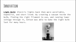 thomas edison video essay
